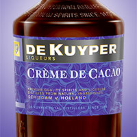Какао ликер коричневый
