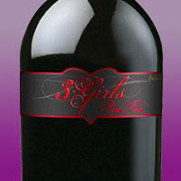 Красное вино сухое