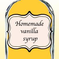 Домашний ванильный сироп
