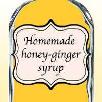 Домашний медово-имбирный сироп
