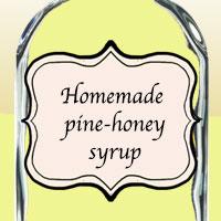 Домашний сосново-медовый сироп