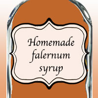 Домашний сироп фалернум