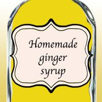 Домашний имбирный сироп