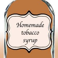 Домашний табачный сироп