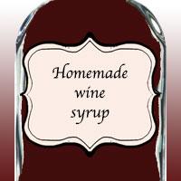 Домашний винный сироп