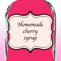 Домашний вишневый сироп