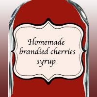 Домашний сироп «пьяная вишня»