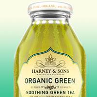 Холодный зеленый чай