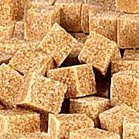 Тростниковый сахар в кубиках