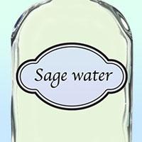 Домашняя шалфейная вода