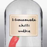 Домашняя водка с чили