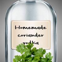 Домашняя водка с кориандром