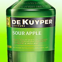 Яблочный ликер зеленый
